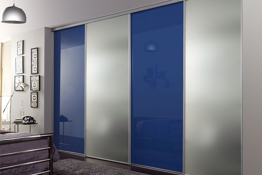 Floor to ceiling wardrobe sliding doors