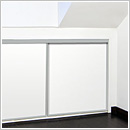 Eaves sliding wardrobe doors